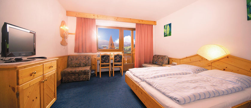 Hotel Tilerhof, Oberau, The Wildschönau Valley, Austria - Deluxe bedroom.jpg